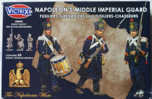 Victrix 28mm VX0016 French Middle Guard Chasseurs / Grenadiers